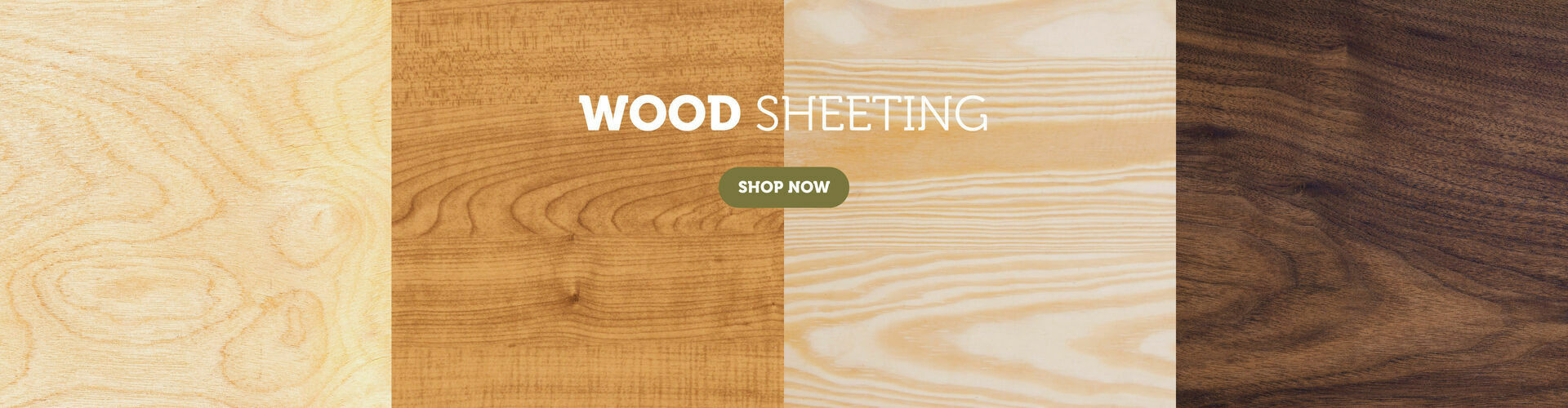 Cut to Size Wood Sheeting