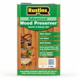 Rustins Advanced Wood Preserver - Clear