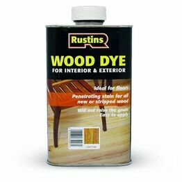Rustins Wood Dye - Ebony