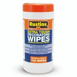 Rustins Extra Tough Decorators Wipes (Tub of 100)