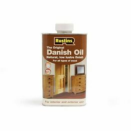 Rustins Interior & Exterior Original Danish Oil - 5 Litres