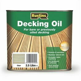 Rustins Decking Oil - Natural Oak