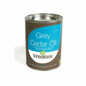 Treatex Grey Cedar Oil 31385 2.5L
