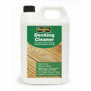 Rustins Decking Cleaner - 4 Litres