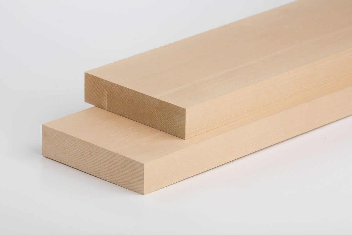 Lime Carving Blanks Sawn 60mm thick Rectangles