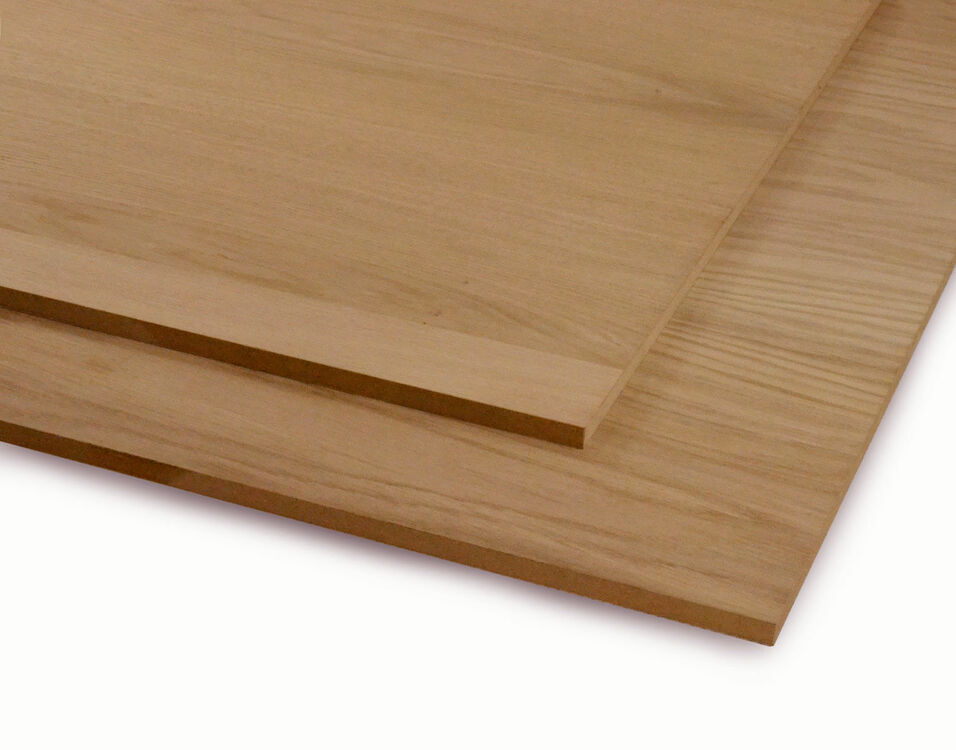 Veneered Mdf Crown Cut Oak Sheeting Cut To Size