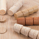 Cross Grained Wood Plugs 12mm (Dia) additional 4