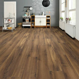 Haro Tritty 100 Gran Via 4V Italian Walnut Laminate Wood Flooring Pack of 2.68m2