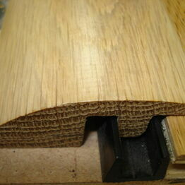 Ramp Profile Oak Flooring Thresholds