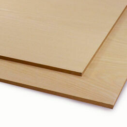 Veneered MDF White Ash