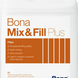 Bona Mix & Fill Plus Floor Filler - 5 Litres