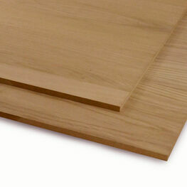 Veneered MDF Crown Cut Oak