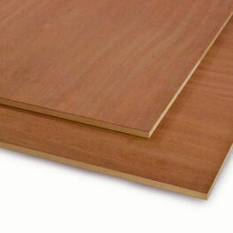 Crown Cut Sapele Veneered MDF