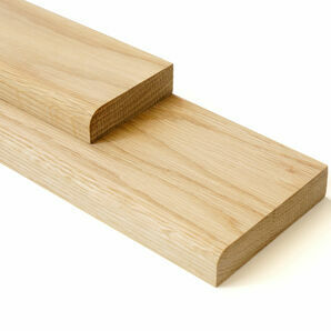 American White Oak Pencil Round Architrave & Skirting Board