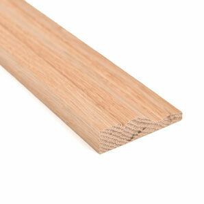 American White Oak Ogee Architrave 68mm x 18mm - 2m Length