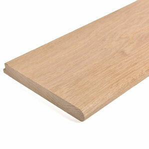 Internal N&T Window Board \'Bull Nose\' Front, Rebate Back 218mm x 26mm - 2m Length