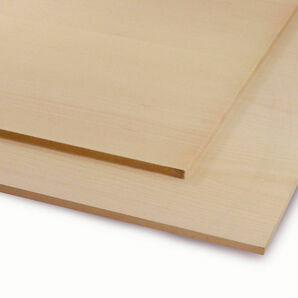 Veneered MDF White Beech Sheet -  2440mm x 1220mm