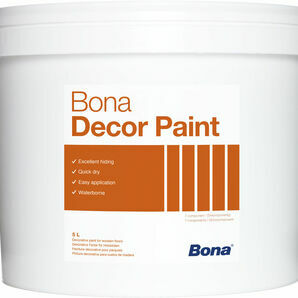 Bona White Decor Paint - 5 Litres