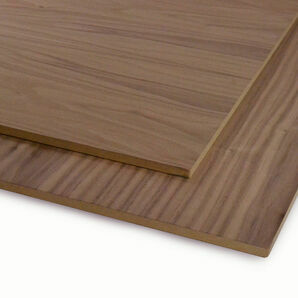 Veneered MDF Black Walnut