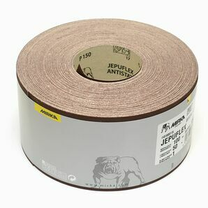 Mirka Jepuflex Antistatic Sandpaper Roll - 115mm x 50m