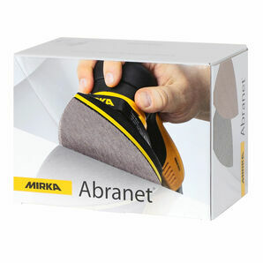 Mirka Abranet Grip Triangle Sandpaper - 100 x 152 x 152mm (Pack of 50)