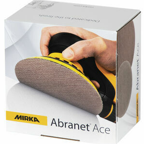 Mirka Abranet Ace Grip Sanding Disc - 150mm (Pack of 50)