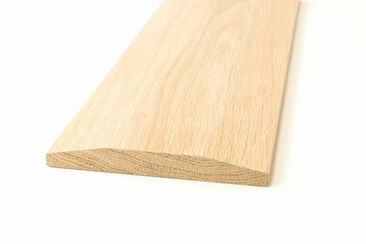 American White Oak Chamfered Door Threshold