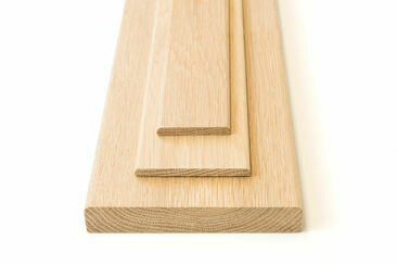 American White Oak Pencil Round Door Thresholds