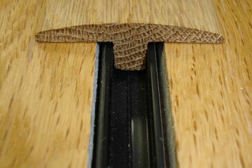 Twin Profile 'T' Oak Flooring Thresholds