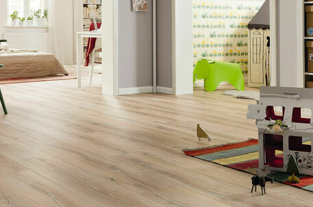 Haro Tritty 100 Gran Via 4V Oak Duna Limewash Laminate Wood Flooring