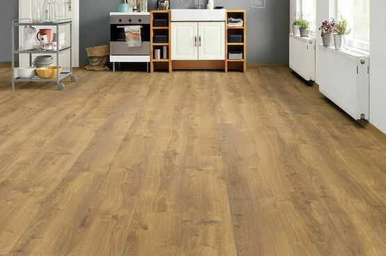 Haro Tritty 100 Gran Via 4V Oak Nature Laminate Wood Flooring Pack of 2.68m2