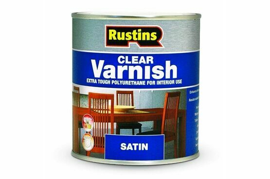 Rustins Polyurethane Clear Interior Matt Varnish