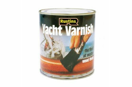 Rustins Gloss Yacht Varnish