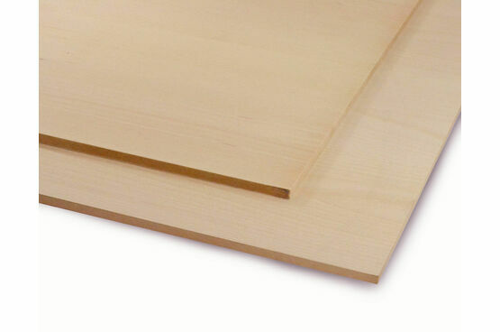 Veneered MDF White Beech