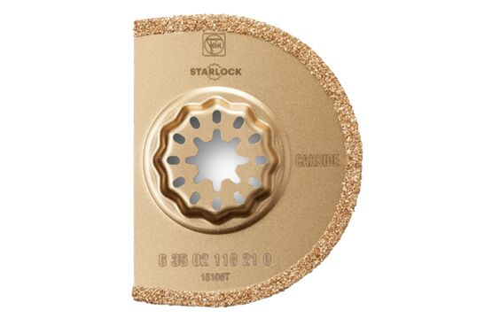 FEIN Starlock Segmented Carbide Saw Blade SL (75mm) - Pack of 5