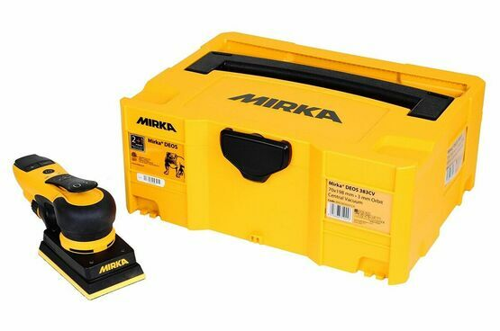 Mirka DEOS 353CV 230V Orbital Sander with Case (81 x 133mm)