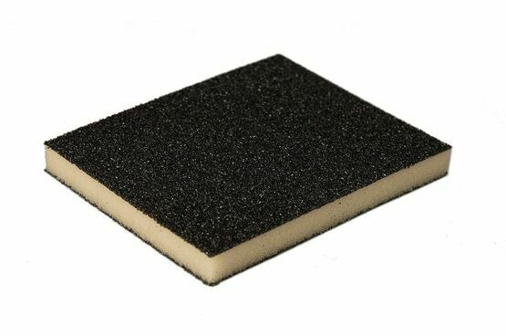 Mirka Sanding Sponge Medium/Medium - 120 x 98 x 13mm (Pack of 100)
